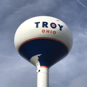 Troy Has Decided Not to Finish Painting Its Water Towers