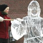 Troy's Fountain To Be Made Into Ice Sculpture of Jesus Christ