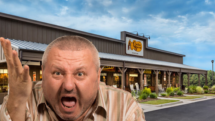 PARDON MY OPINION: OPEN THE DAMN CRACKER BARREL