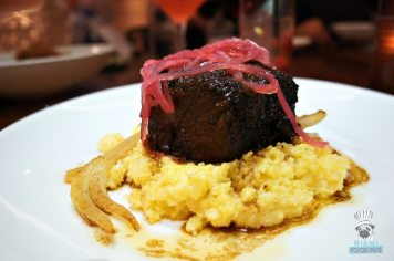 Oltremare's Short Rib and Polenta