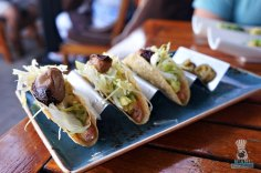 Steak 954 - Foie and Tuna Tacos