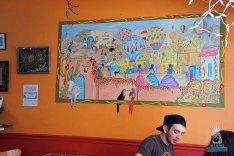 Taste History - Taco Lady Mural