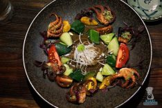 Dragonfly - Grilled Baby Octopus Sunomono