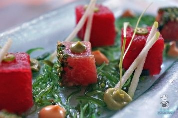 Essensia - Summer Menu - Tuna and Compressed Watermelon