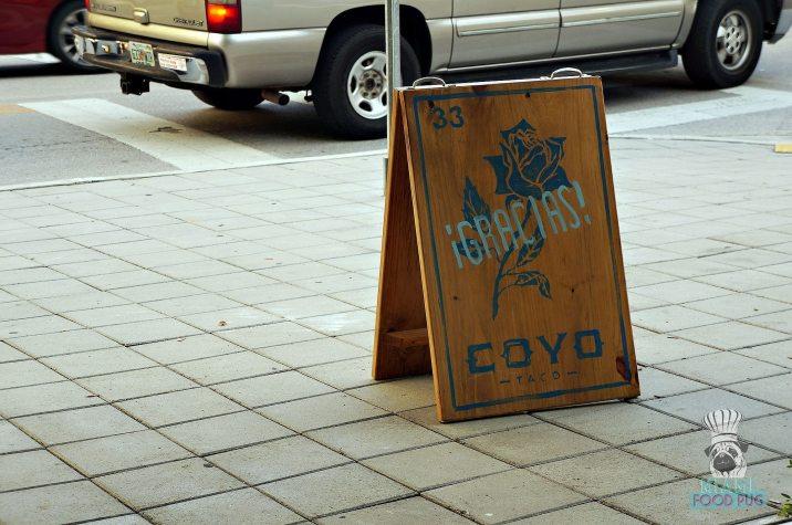 Coyo Taco - Brickell - Gracias