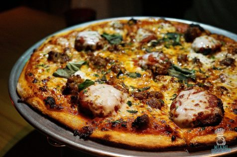 Pizza & Burger - The Parmigiano Pizza