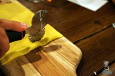 Proof Pizza and Pasta - Pasta Making Class - Cutting Agnolotti