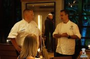 Quality Meats / Edge Steak and Bar - Chef Rebholz (L) and Chef Brooks (R)