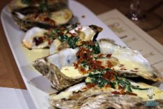 Tamara's Bistro - Grilled Oysters