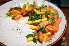 The Social Club - Pickled Peach Salad