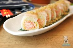 Norwegian Escape - Food Republic - Yellowtail Roll