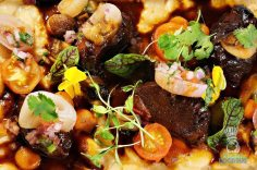 La Mar - Fall Inspirations and Classics - Veal Cheeks with Pallares