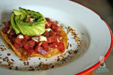 Sweet Liberty - Brunch - Tuna Tostada