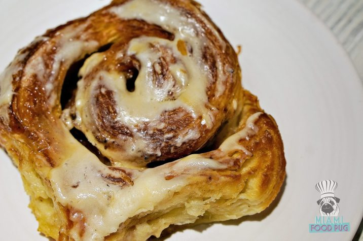 Bakehouse Brasserie - Maple Bacon Cinnamon Roll
