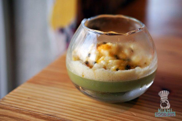 Tanuki - Green Tea Panna Cotta