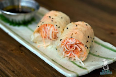 Pubbelly Sushi - Brickell - Butter Crab Roll