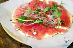 Pubbelly Sushi - Brickell - Tuna Pizza