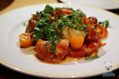 Point Royal - Heirloom Tomatoes & Radishes Salad