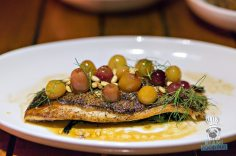 The Restaurant at The Raleigh - Grilled Yellowtail Snapper