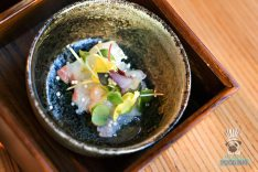 Dashi - White Fish Tiradito