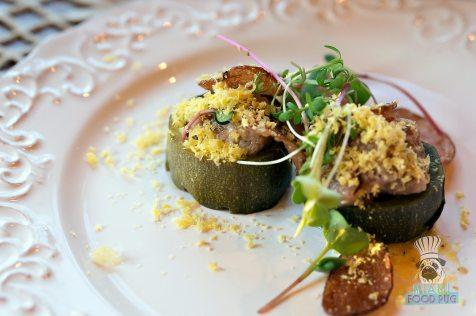 Estancia Culinaria x The Local x Knaus Berry Farm - Sunday Supper - Fermented Zucchini with Lamb