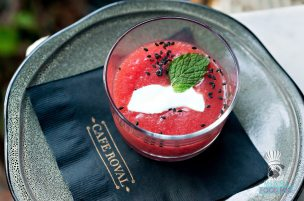 Cafe Roval - Watermelon Gazpacho