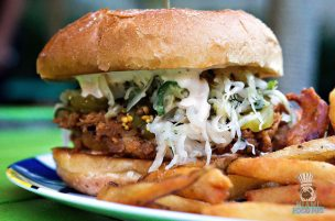 The Anderson - Fried Chicken Sandwich