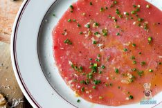 Le Zoo - Brunch - Tuna Carpaccio
