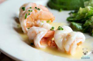 Le Zoo - Brunch - Warm Shrimp Salade