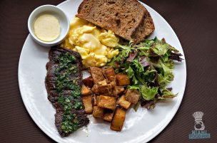 Steak 954 - Brunch - Steak and Eggs