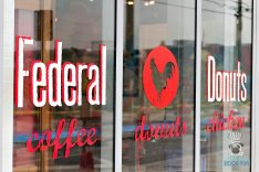 Federal Donuts - Window