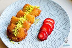 Byblos - Miami Spice 2017 - Strawberry Cheesecake Qatayef 4