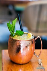 KOMODO - Lunch - Ginger Passion Fruit Mule