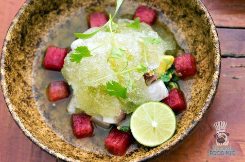 Katsuya - Miami Spice 2017 - Watermelon Ceviche