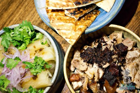 Pinch - BBQ and Beer Dinner - Fire Roasted Whole Pig, House made Grilled Pita Bread, Yucca