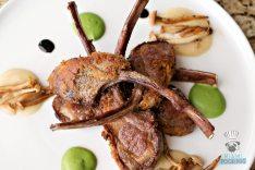 Rusty Pelican - Herb Crusted Lamb Rack