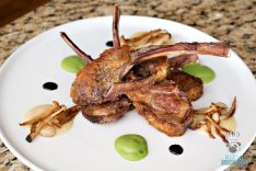 Rusty Pelican - Herb Crusted Lamb Rack