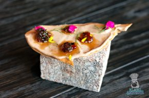 Stubborn Seed - Chicken Liver Mousse Lavash