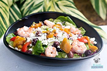 LaMuse Cafe - Greek Salad with Shrimp