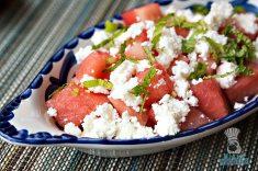 Lolo's Surf Cantina - Breakfast - Watermelon Salad