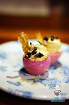 Root and Bone Miami Beach - Drunken Deviled Eggs