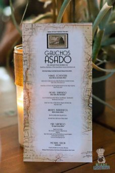 Swank Farms - Gauchos Asado Dinner - Menu
