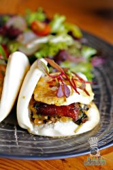 Tanuki - Brunch - Crispy BBQ Pork Belly Bao