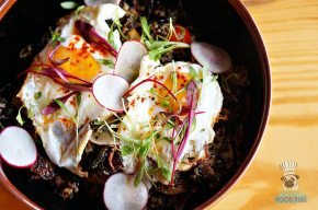 Tanuki - Brunch - Crispy Brussel Sprouts and Quinoa Bowl