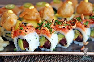 LT Steak and Seafood - Spicy Tuna Roll