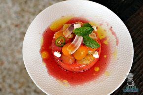 LT Steak and Seafood - Watermelon and Hierloom Tomato Salad 2