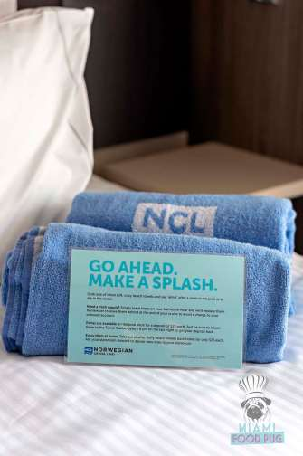 Norwegian Bliss - Stateroom - Towels