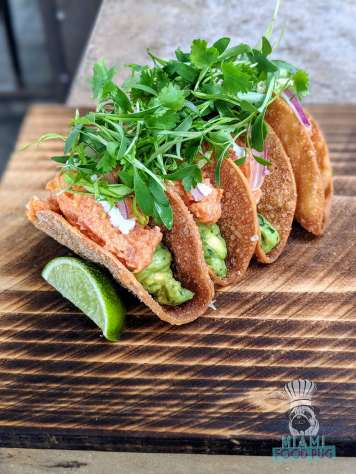 Kettner Exchange - Big Eye Tuna Tacos