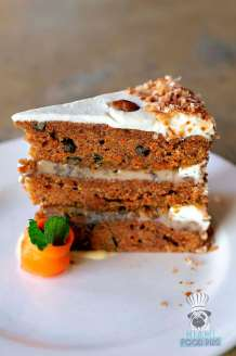 Devon Seafood and Steak - Carrot Cake