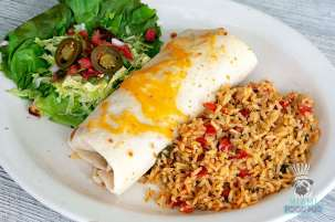 Chuy's - Fajita Chicken Burrito Whole